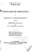 Which Spiritualism Or Christianity