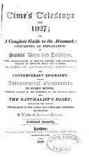 Time's Telescope for ... ; Or, A Complete Guide to the Almanack ebook