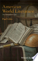 American World Literature  An Introduction