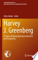 Harvey J  Greenberg Book