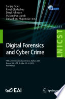 Digital Forensics and Cyber Crime Book