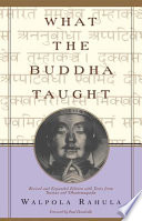 What the Buddha Taught Book