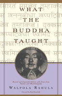 Cover of What the Buddha Taught