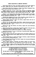 Book Collecting and Library Monthly