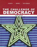 The Challenge of Democracy  Government in America Book