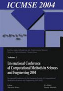 International Conference of Computational Methods in Sciences and Engineering 2004 (ICCMSE 2004)