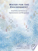 Water for the Environment Book