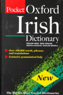 The Oxford Pocket Irish Dictionary