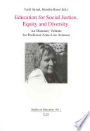 Education for Social Justice  Equity and Diversity