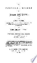 THE POETICAL WORKS OF JOHN MILTON   WITH A Life of the Author