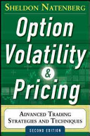 Option Volatility and Pricing: Advanced Trading Strategies and Techniques, 2nd Edition banner backdrop