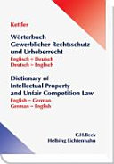 Dictionary of Intellectual Property and Unfair Competition Law