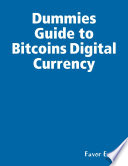 List of Dummies Guide To Bitcoin E-book