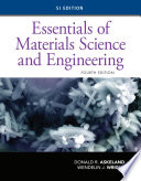 Essentials of Materials Science and Engineering  SI Edition Book