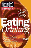 Time Out 2008 New York Eating   Drinking Book