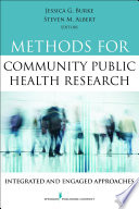 Methods for Community Public Health Research