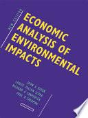 Economic Analysis of Environmental Impacts