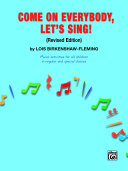 Come on Everybody, Let's Sing! Pdf/ePub eBook