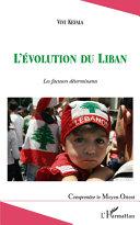 L'évolution du Liban