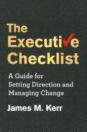 The Executive Checklist