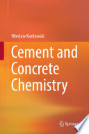 Cement and Concrete Chemistry Book