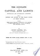 The Conflicts of Capital and Labour Book