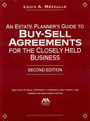 Pdf An Estate Planner's Guide to Buy-sell Agreements for the Closely Held Business