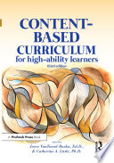 Content Based Curriculum for High Ability Learners
