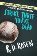 Strike Three You're Dead Pdf/ePub eBook