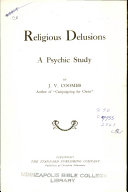Religious Delusions a psychic study