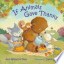 If Animals Gave Thanks Book PDF