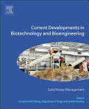 Current Developments in Biotechnology and Bioengineering Book