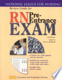 """Review Guide for RN Pre-entrance Exam"" by Mary McDonald, National League for Nursing. Assessment and Evaluation Division"