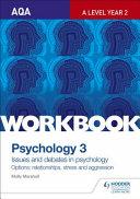 Aqa Psychology for a Level Workbook 3