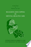 Religion And Coping In Mental Health Care Book PDF