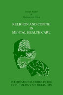 Religion and Coping in Mental Health Care