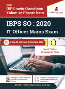 IBPS SO IT Officer   Complete Study Material Kit  Pre   Mains   Sectional