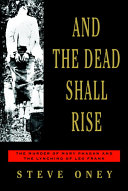 And the Dead Shall Rise Book PDF