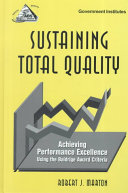 Sustaining Total Quality