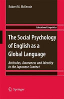 Pdf The Social Psychology of English as a Global Language Telecharger