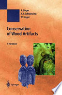 Conservation Of Wood Artifacts Book PDF