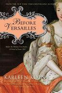 Before Versailles