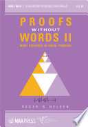 Proofs Without Words Ii Book PDF