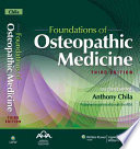 Foundations Of Osteopathic Medicine Book PDF