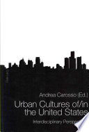 Urban Cultures Of In The United States