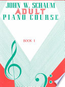 Adult Piano Course  Bk 1 Book