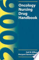 2006 Oncology Nursing Drug Handbook Book