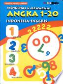 Mengenal & Mewarnai Angka 1-20 Indonesia Inggris