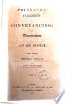 Prideaux s Precedents in Conveyancing Book