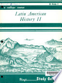Latin American History II